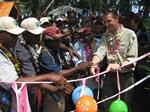 Community projects launched in Central Manus