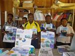 Manus schools receive climate change resource materials